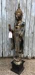 Buddha Thailand 133 cm Türkis/Gold