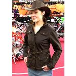 Wachs Jacke Silverstone -for Women only