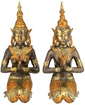 10 pair  bronze Teppanom 40cm