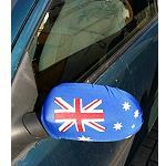 KFZ Auto Spiegelüberzug Bikini AUS Flagge