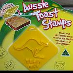 Toastform Toast Stempel  3er Set