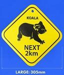 Metallschild Koala 23cm