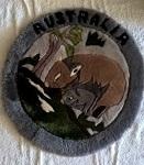 weiche Kissen Kissenhülle Wombat 48cm