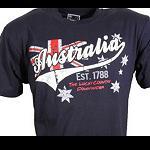 T Shirt  Australia blue 1788
