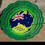 Wind Scheibe  Spinner Flagge 20cm