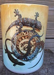 Kaffeebecher mit Leguan Gecko Echse TOP