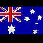 Aufkleber Flagge Australien 16x8cm