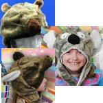 Winter Mütze Wombat Känguru Tas Devil