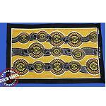 Stoffdruck Aborigines Malerei 63x48xcm