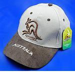 Base Cap Australien Khaki Känguru
