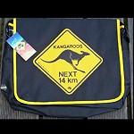 SchulterTasche Laptop Shark Känguru 40cm
