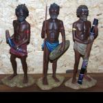 Aborigines Figur 10 cm Didgeridoo Boom