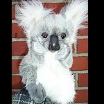 Koala Handpuppe 23 cm sehr weich