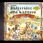 CD Didgeridoo und Känguru  Kinderlieder