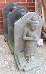 Buddha Lava Stein 40 cm