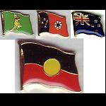 Pin Aborigines Neuseeland North Territory