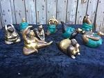 Elfi Yoga 9 Modelle bronze-grün-antik