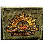 Aufnäher Australian Army 6cm