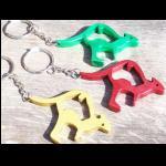 Schlüsselanhänger Känguru Flaschenöffner