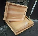 Holz Tablett 36x27 cm Sonderposten