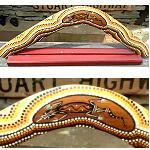 Bumerang + Ständer 55cm breite