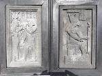 Ägyptisches Relief 45 x 30 cm