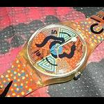 Swatch ARTIST COLLECTION  Uhr Aborigines Malerei