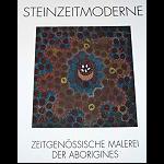 Steinzeitmoderne  Malereien der Aborigines