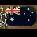 Kette Dogtag Marke Australien Neuseeland