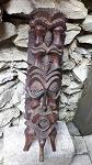 Geister Corroberee Maske Statue 44 cm