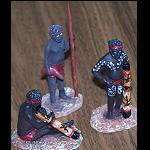 Aborigines Figuren 4 cm verschiedene