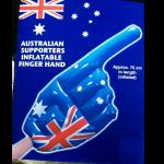 Big HAND zum Anfeuern   Aussie  go go go