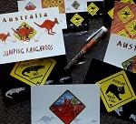 Postkarten Set + Kuli -  9er Set