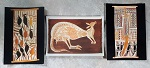 3 Postkarten Aborigines Malerei