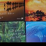 4 Postkarten - round Australia
