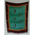Sarong Tuch handgefertigt 110x160