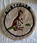 weiche Kissen Kissenhülle Känguru 48cm