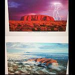 Poster ULURU Ayers Rock 30x44