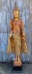 Buddha stehend rot-orange 185 cm