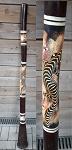 Didgeridoo Rindenfuß Polyfaser TOP 140cm