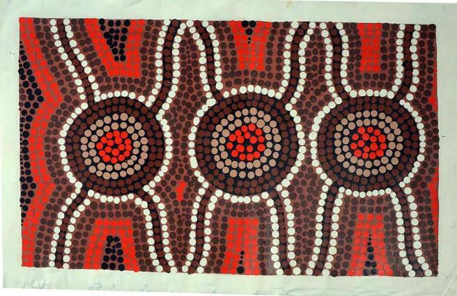 Orig Malerei Auf Leinen 42x685cm Kaufen Im Australien Versand Shop