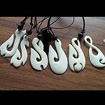leichter Anhänger Muscheln Hook  4-5cm