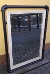 Spiegel Rahmen Metallrohr 53x37cm