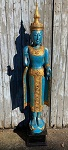 Buddha Thailand 195 cm blau-türkis