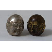Buddha 4 Gesichter Bronze ca. 3 cm
