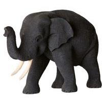 Elefant 10 cm Teakholz