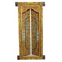 BalinesischeTempel Tür Holz 200x100cm