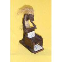 Asmat Visitenkartenhalter Stuhl 22 cm