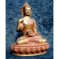 Buddha Messing 5,5 kg-33 cm
