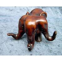 Elefant Drei Köpfe, 5.5 cm hoch